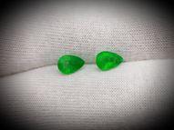 Emerald pair 1.33 ct 7х5 mm